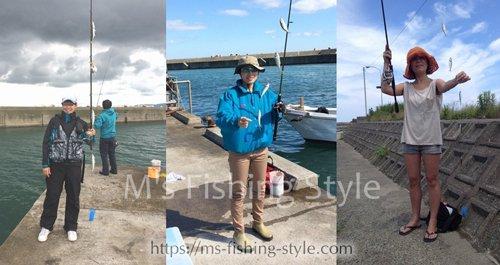 釣り初心者&女性の方必見!海釣りでの服装と必需品&あると便利