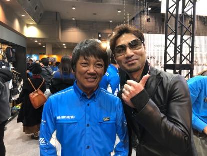 高橋哲哉さんと大阪フィッシングショーにて