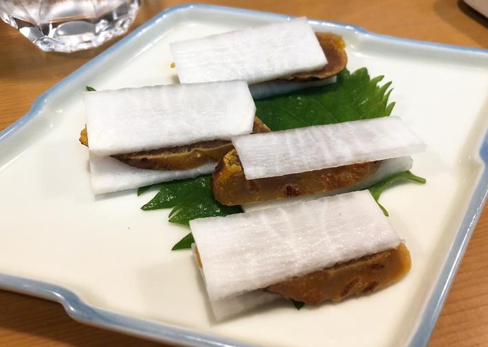自家製カラスミ@しんや寿司