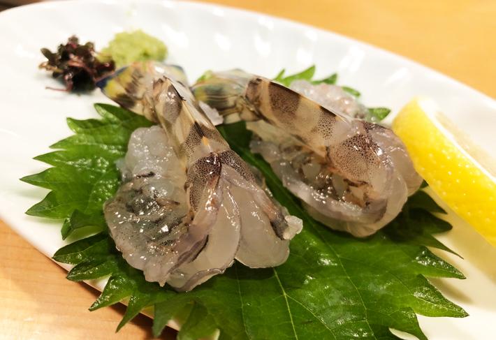 車海老のおどり@しんや寿司