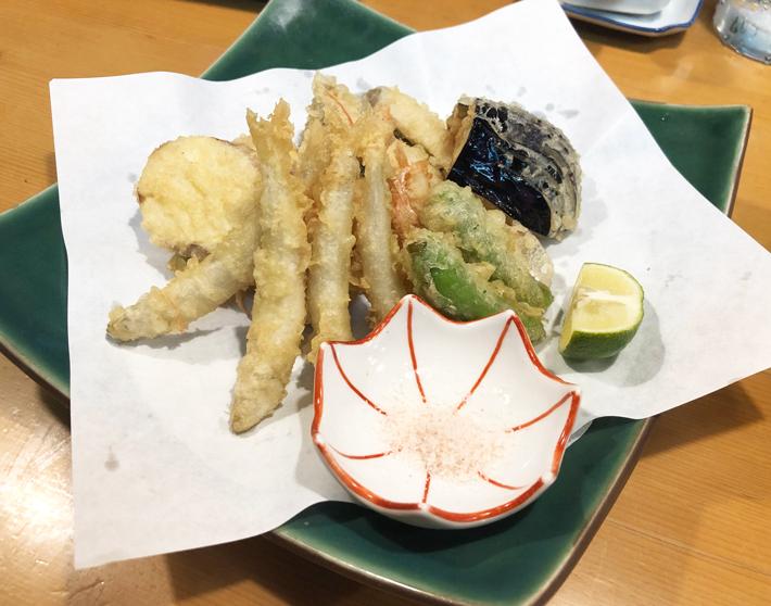 天ぷら盛り合わせ@しんや寿司