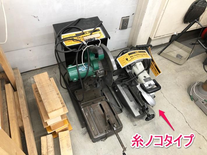 糸ノコタイプの電動工具