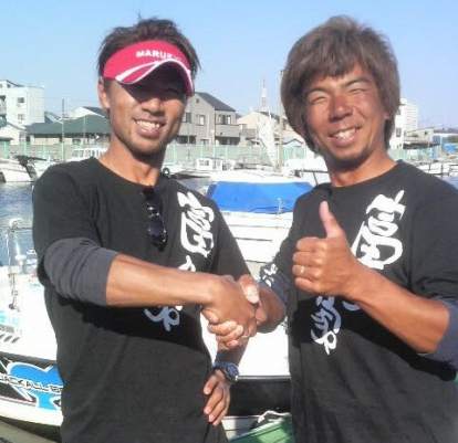 Seamaster竹嶋さんと著者