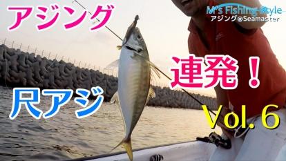 尺アジ連発!アジング~ジグヘッド+ワームで大鯵釣り~仕掛け&リグ~真鯵と丸鯵の違いについて@大阪湾 Seamaster