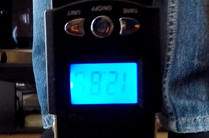 切断数値12.86kg フロロカーボン10号