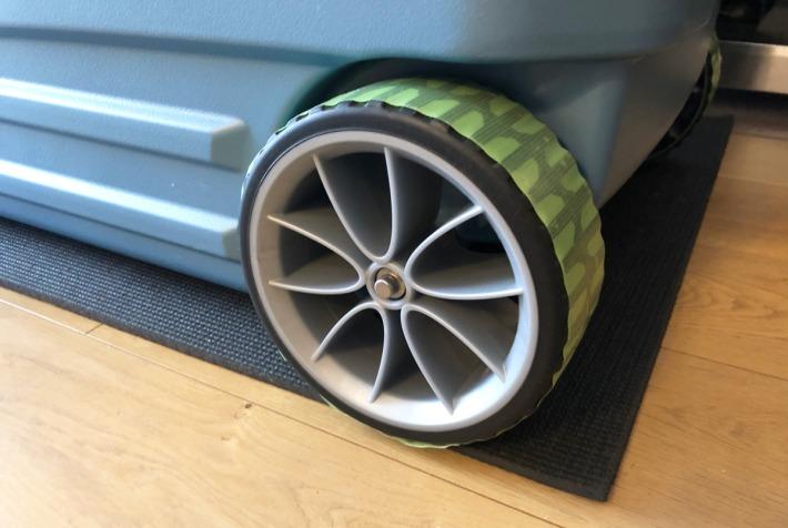 GLLIDE 110QTの車輪