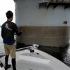 橋脚でアコウ・根魚狙い@Seamaster