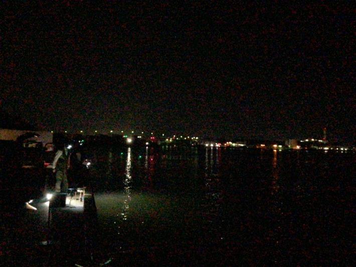 2021年8月11日深夜 和歌山 青岸付近の状況